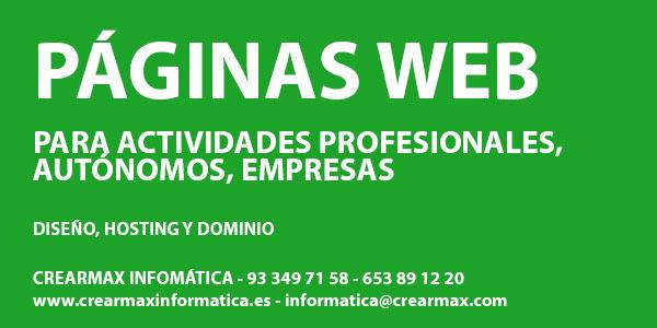 Páginas Web Barcelona