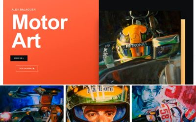 Diseño Web Página Balaguer Motor Art